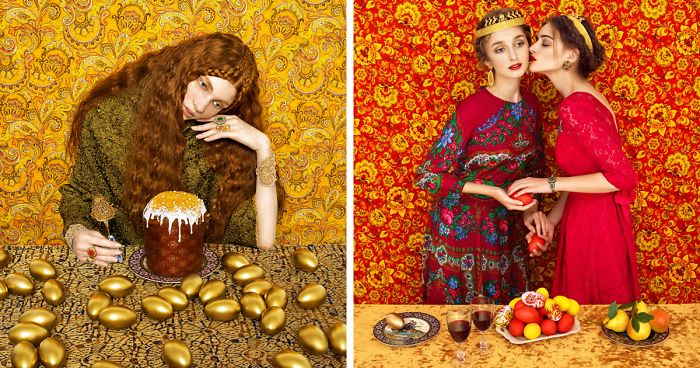 Vibrant Photos Pay Homage to Slavic Folklore through High-Fashion Portraits