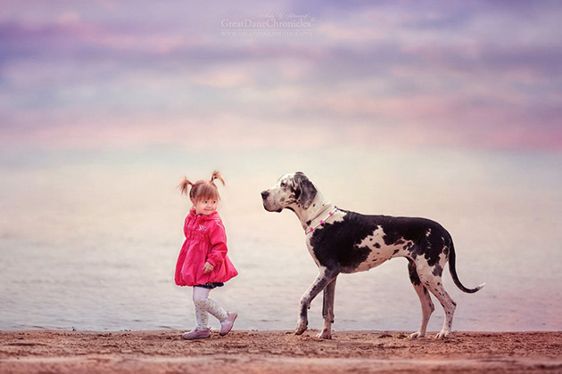 little-kids-big-dogs-photography