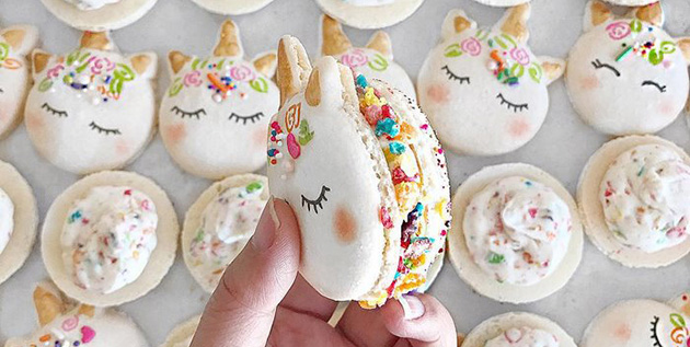 Unicorn Macarons Are The Most Magical Dessert Ever