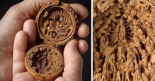 16th Century Boxwood Carvings Are So Miniature Researchers Used X-Ray To Solve Their Mystery