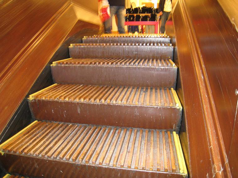 Macy S Wooden Escalators