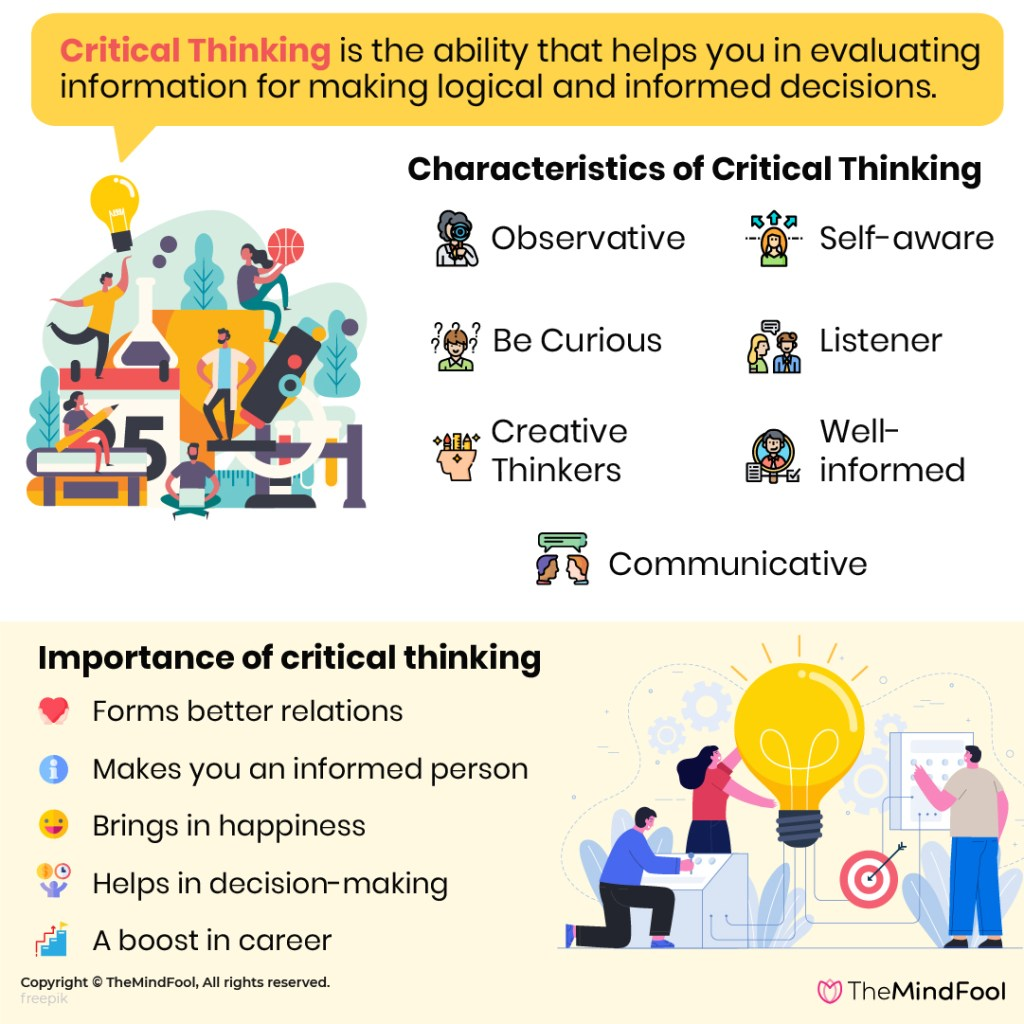 Ways To Build Critical Thinking Skills