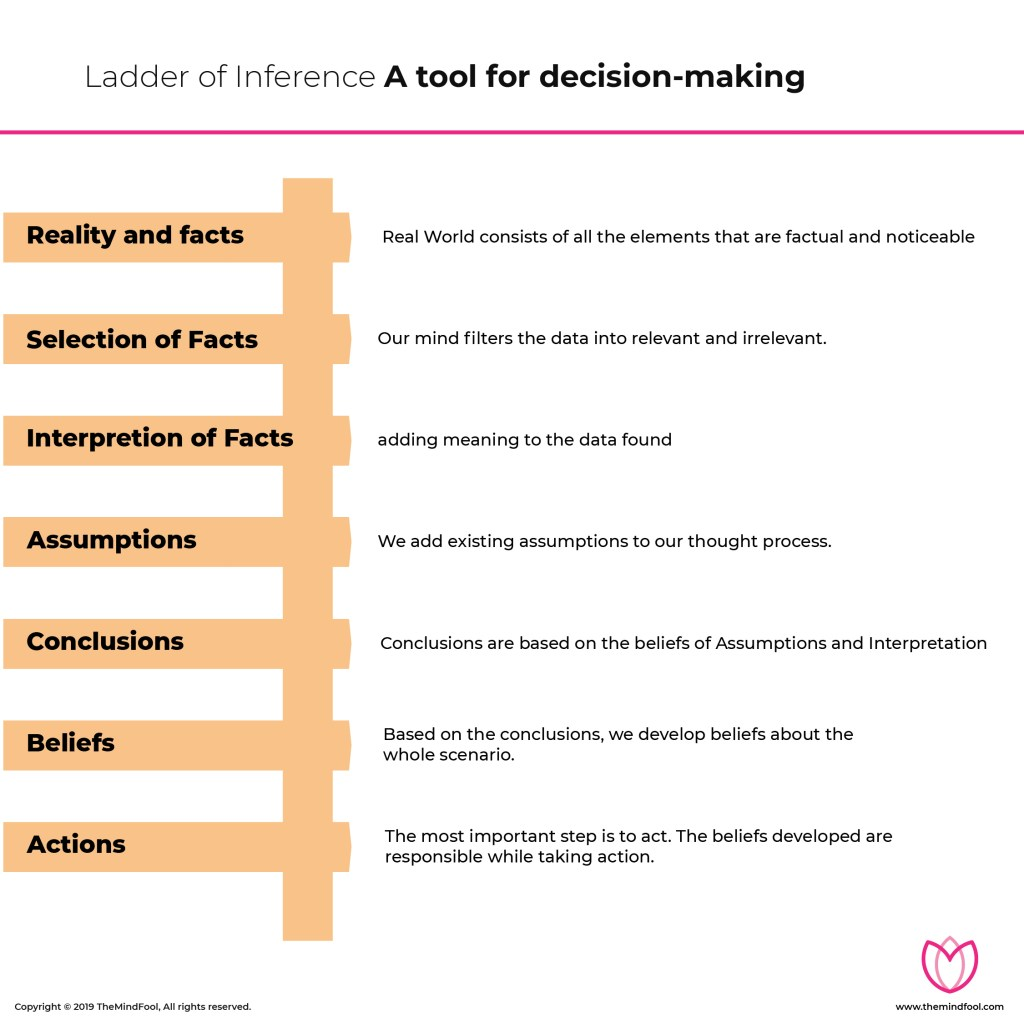 Ladder of Inference: A tool for decision-making