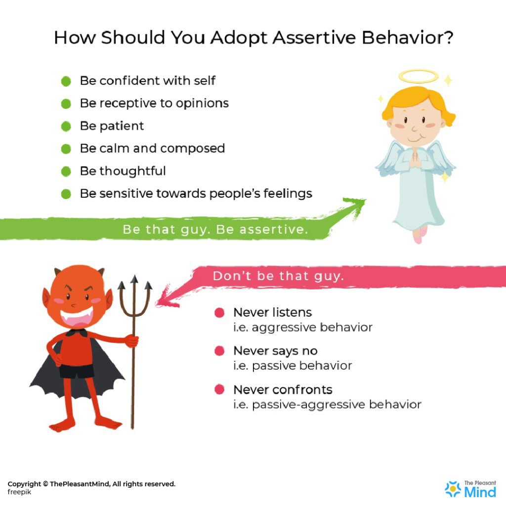 Assertive Behavior A Simple Way To Develop Yourself
