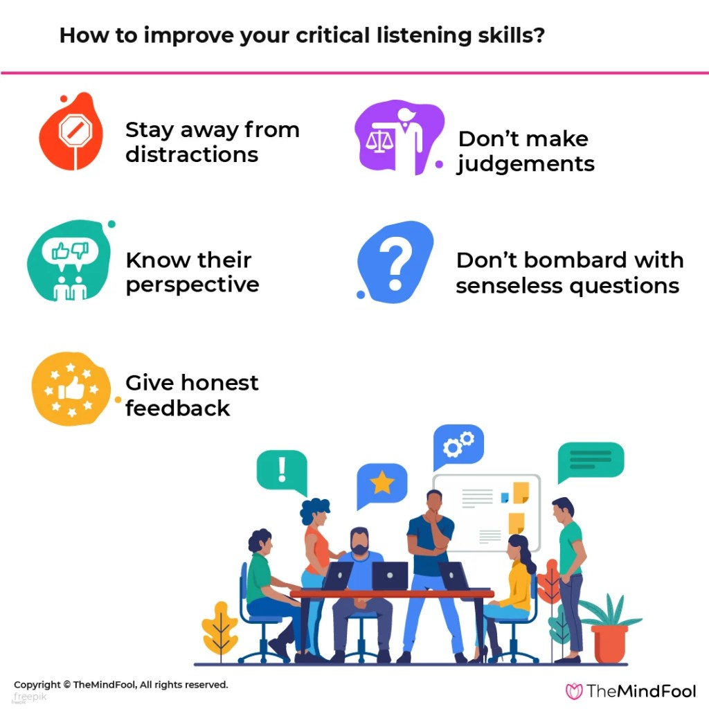 How to improve your critical listening skills
