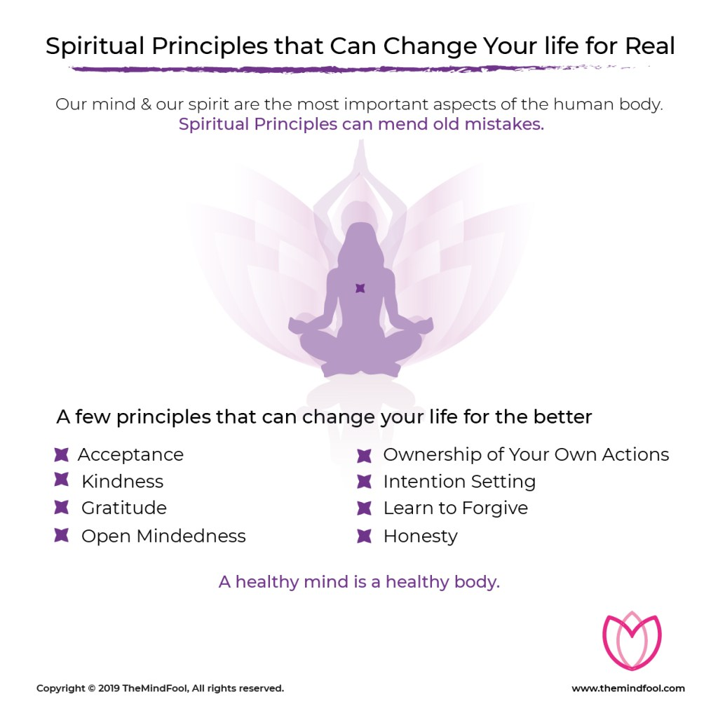 Spiritual Principles that Can Change Your life for Real