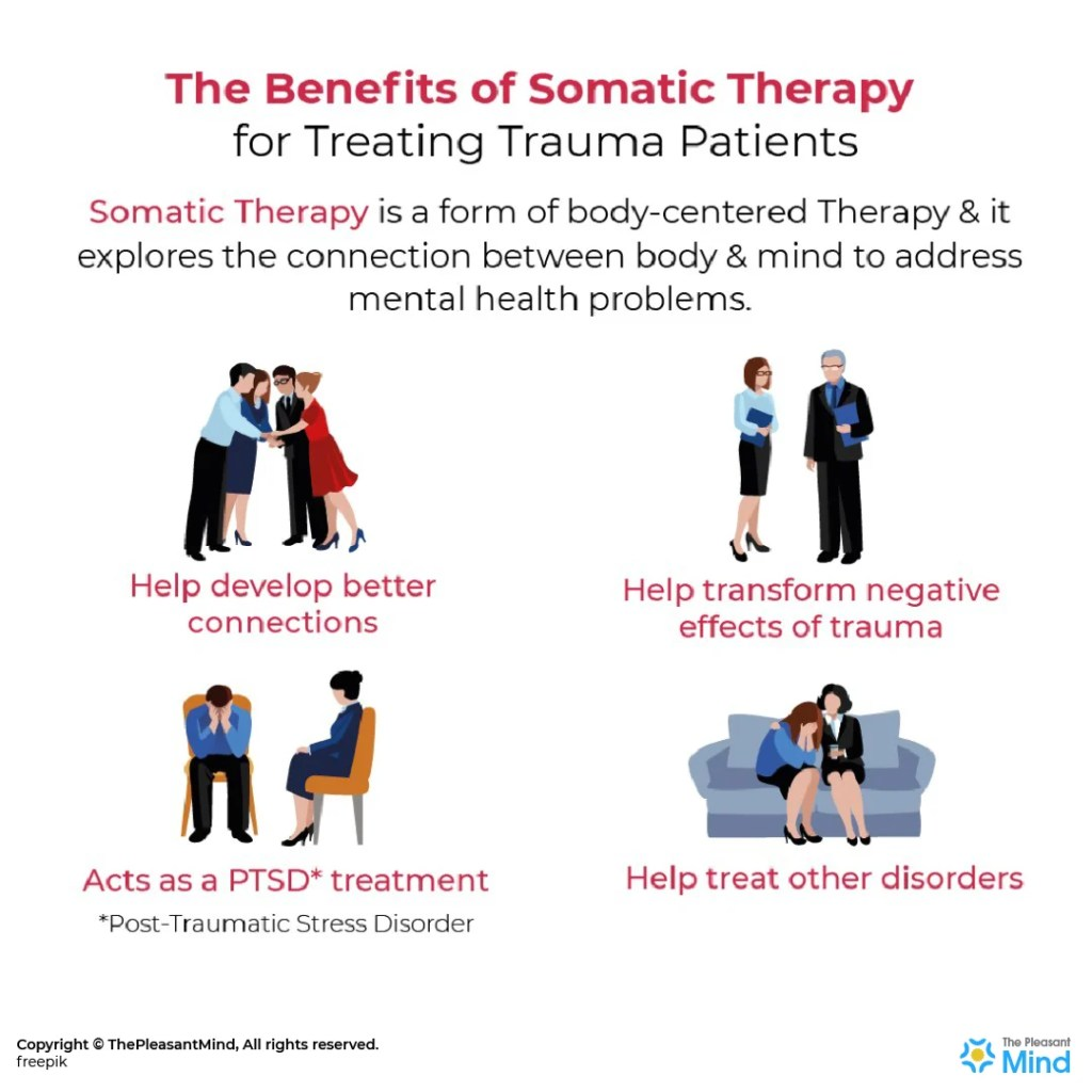 The Benefits of Somatic Therapy for Treating Trauma Patients