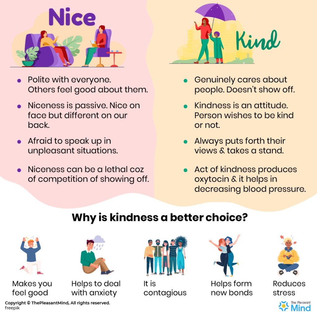 Nice vs Kind: Who You Choose to Be?