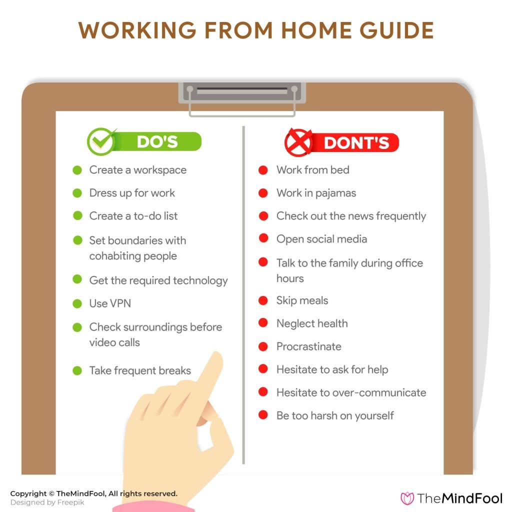 Coronavirus Pandemic: Working from home guide