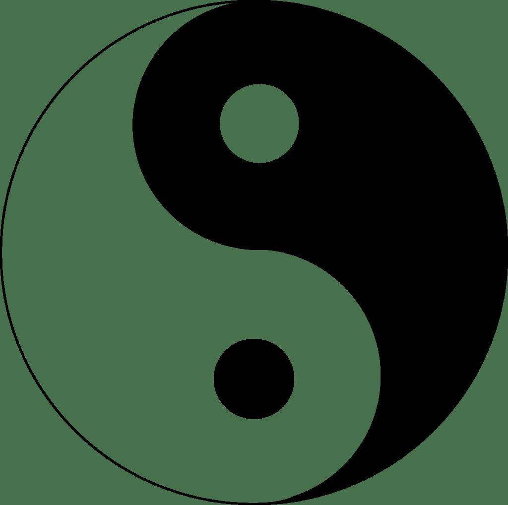 #3 Spiritual Symbol: Yin Yang - Balance between opposites