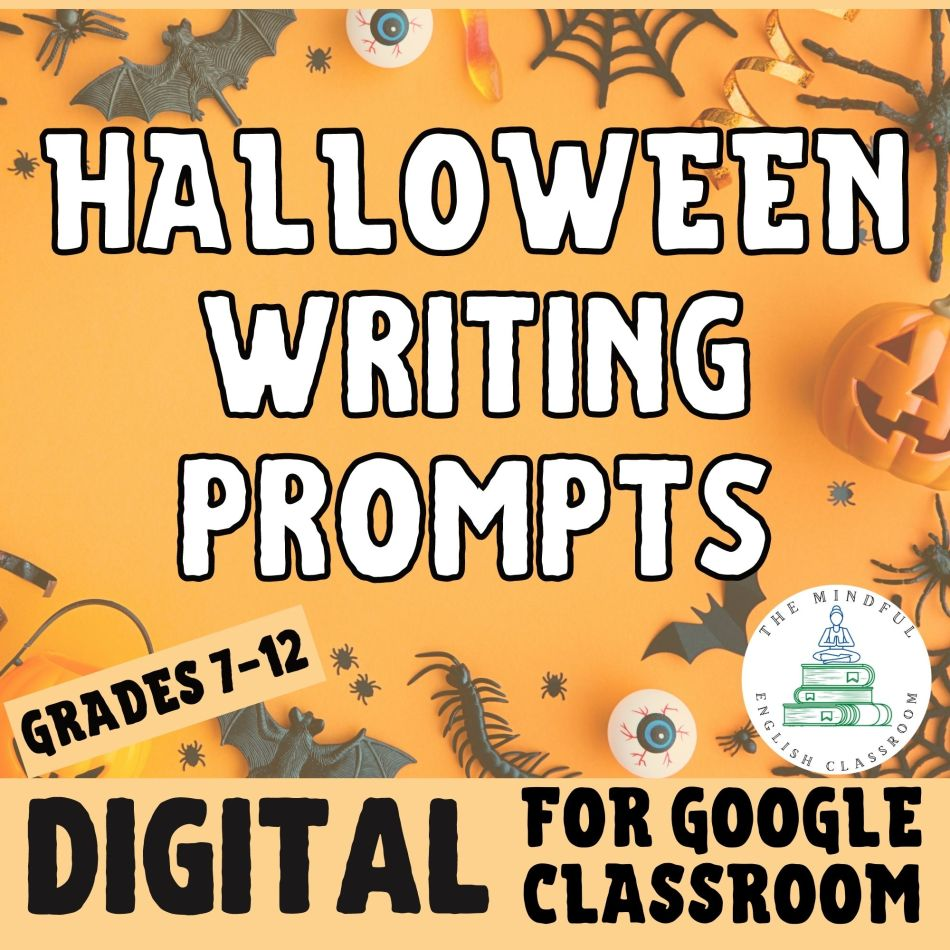 Halloween Writing Prompts for English Class