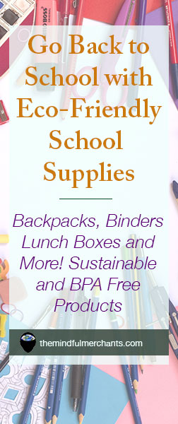 Go Back to School with Eco Friendly School Supplies