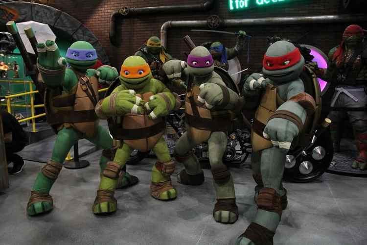 Tortugas Ninjas mutantes adolescentes