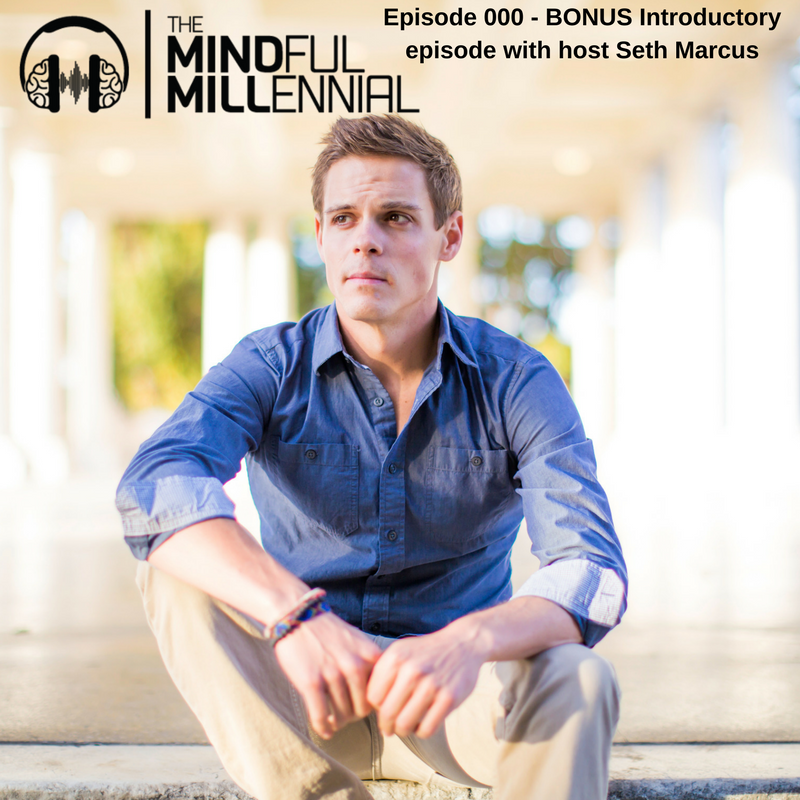000 – Welcome to The Mindful Millennial! Bonus Introductory Episode with Seth Marcus