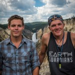 Seth Marcus and Greg Woodruff in Yellowstone Park