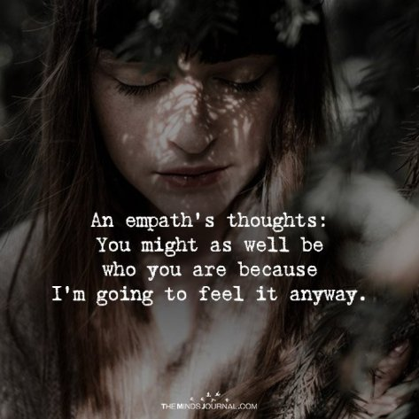An Empath's Thoughts