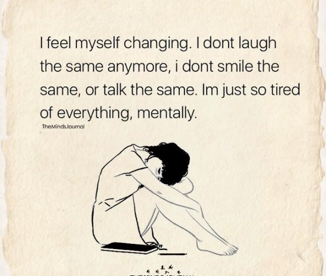 I Feel Myself Changing