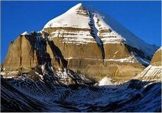 7.Crown chakra: Mt. Kailas, Tibet.