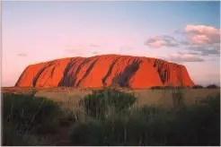 3.Solar Plexus chakra: Uluru-Katatjuta, Australia