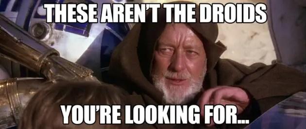 the droids