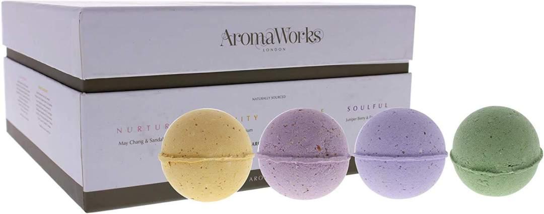 Aromaworks Bath bombs Quad box