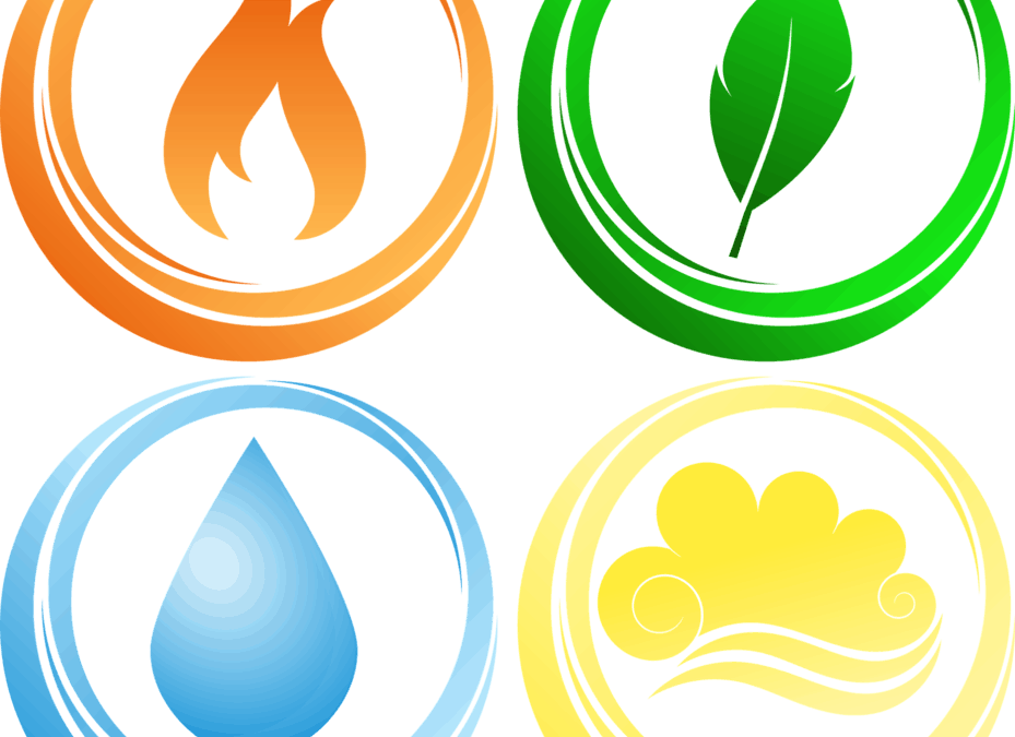 Spring Time! Welcome Balance into Your Life with The Four Elements: Fire, Earth, Air, Water.