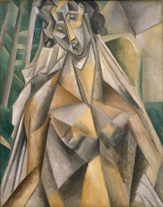 Nude in an Armchair Pablo Picasso Date: Horta de Ebro (present-day Horta de Sant Joan), summer 1909 Medium: Oil on canvas