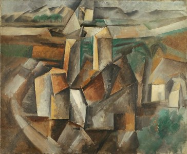 The Oil Mill Pablo Picasso Date: Horta de Ebro (present-day Horta de Sant Joan), summer 1909 Medium: Oil on canvas