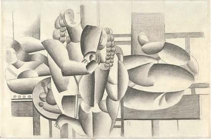 Three Women Fernand Léger Date: 1920 Medium: Graphite on white wove paper