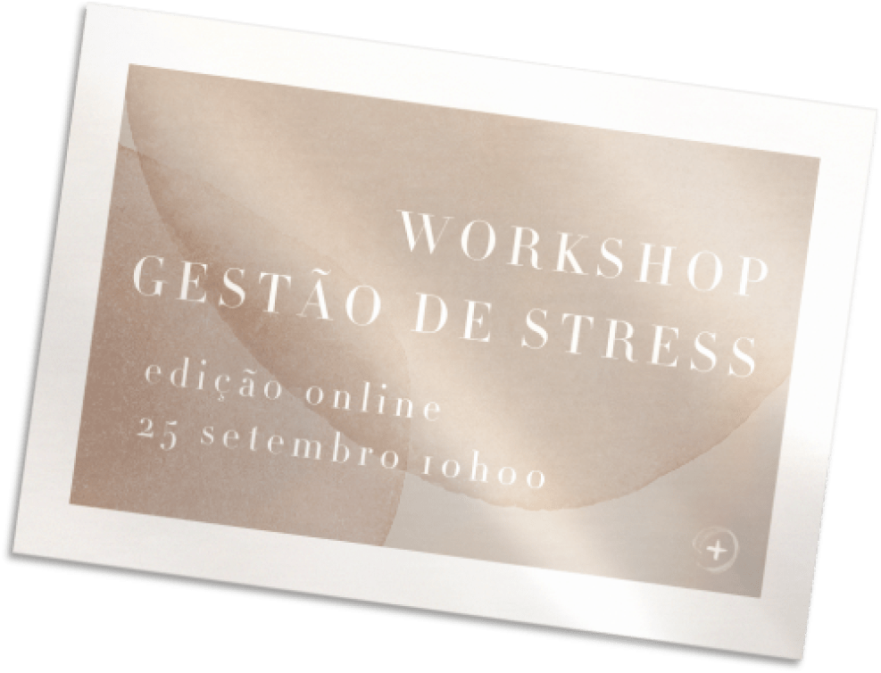 Banner Site Workshop Gestão de Stress Setembro 2021