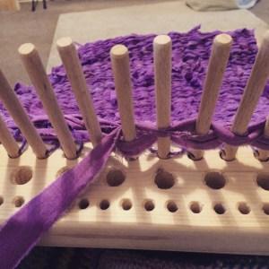 weaving as you go!