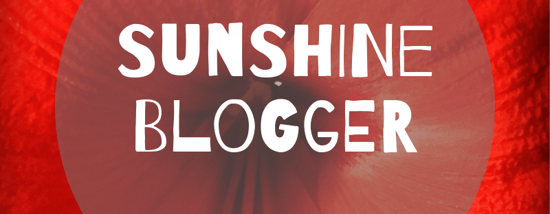 Sunshine Blogger Top UK Bloggers