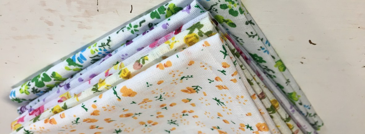 Handkerchiefs are easy to make and save money as well as being zero waste