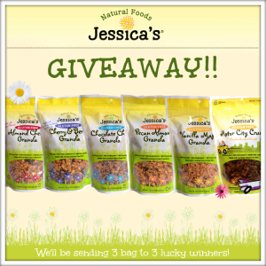 20140803 Day 2 Jessica's Natural Foods - Giveaway