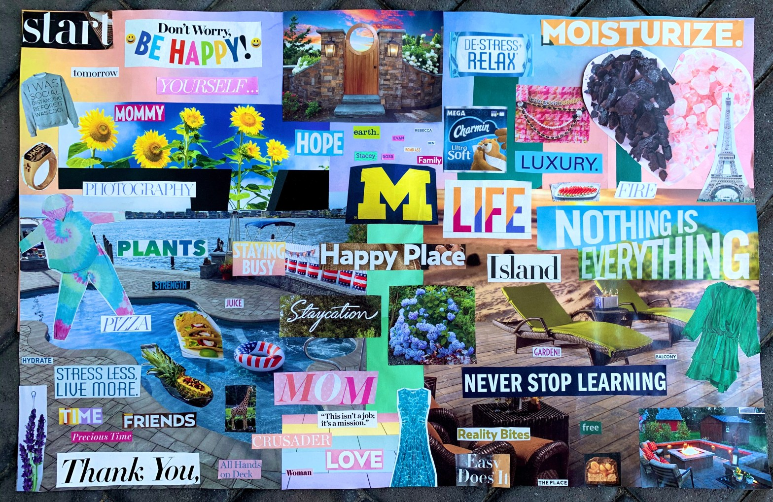 The Mint Chip Mama - Vision Boards