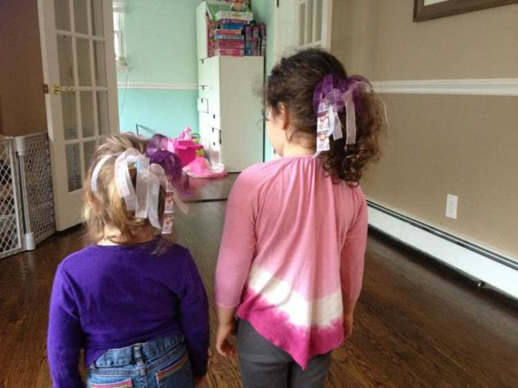 The Mint Chip Mama - RSDubs Ribbons 2 Little girls with pretty hair accessories
