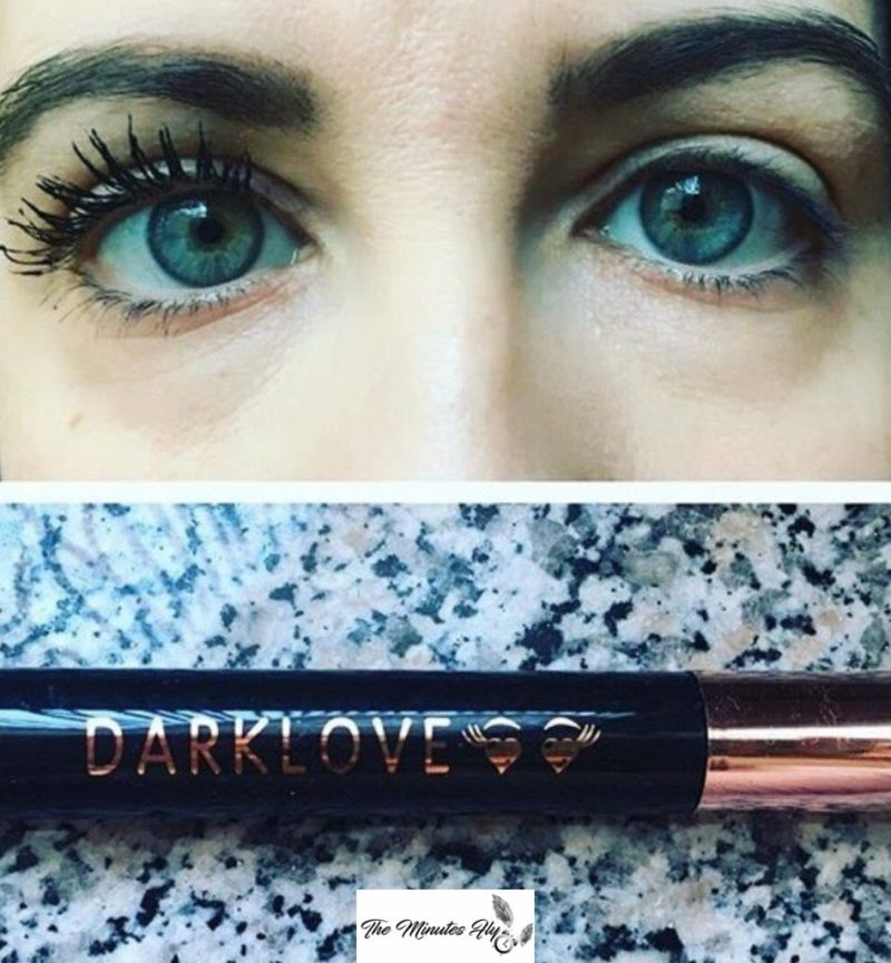 mascara darklove - cliomakeup - review - the minutes fly