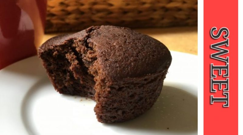 muffin con cioccolato, cocco e zenzero - le ricette degli innamorati - idee romantiche - dolci di san valentino