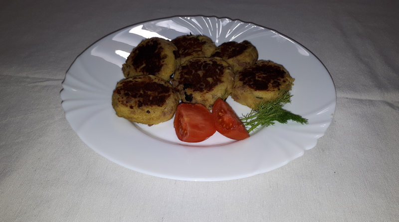 polpette di patate al curry - the minutes fly