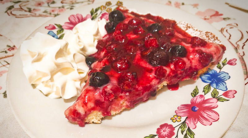 crostata di frutti di bosco - the minutes fly - web magazine
