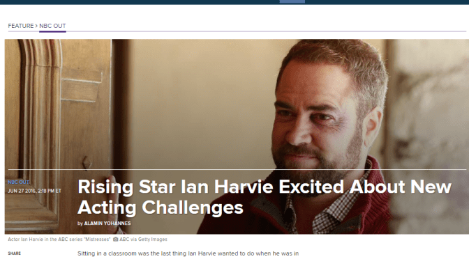 Ian Harvie's Rising Star