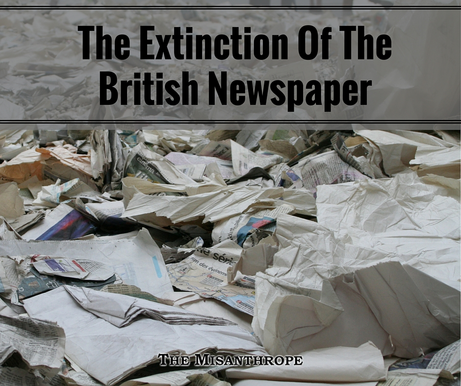 The Extinction Of The British Newspaper