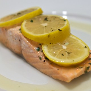 Salmon with Lemon and Thyme