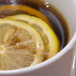 Hot Lemon and Ginger Coke