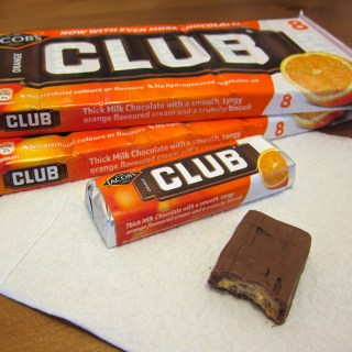 Snack: Jacob's Club Biscuit