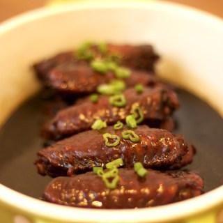 Swiss Sauce Chicken Wings (Dark Soy Sauce Chicken Wings)
