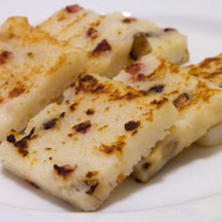 Chinese New Year: Turnip Cake