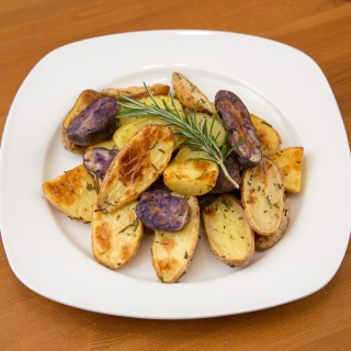 Roasted Fingerling Potatoes with Rosemary
