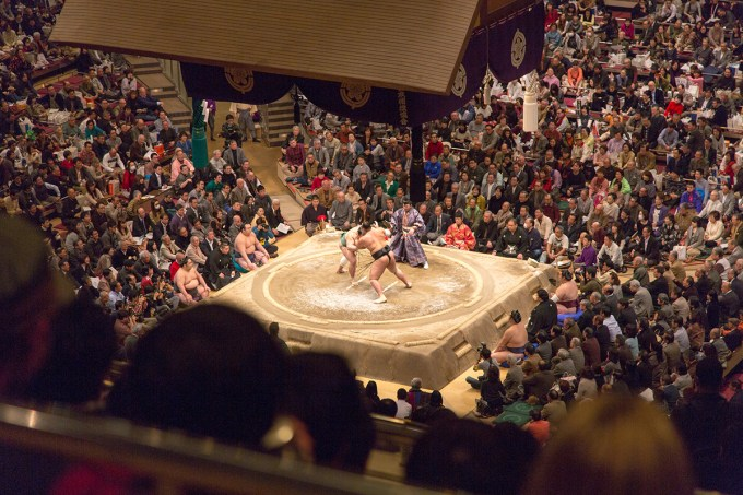 Sumo Competition | The Missing Lokness