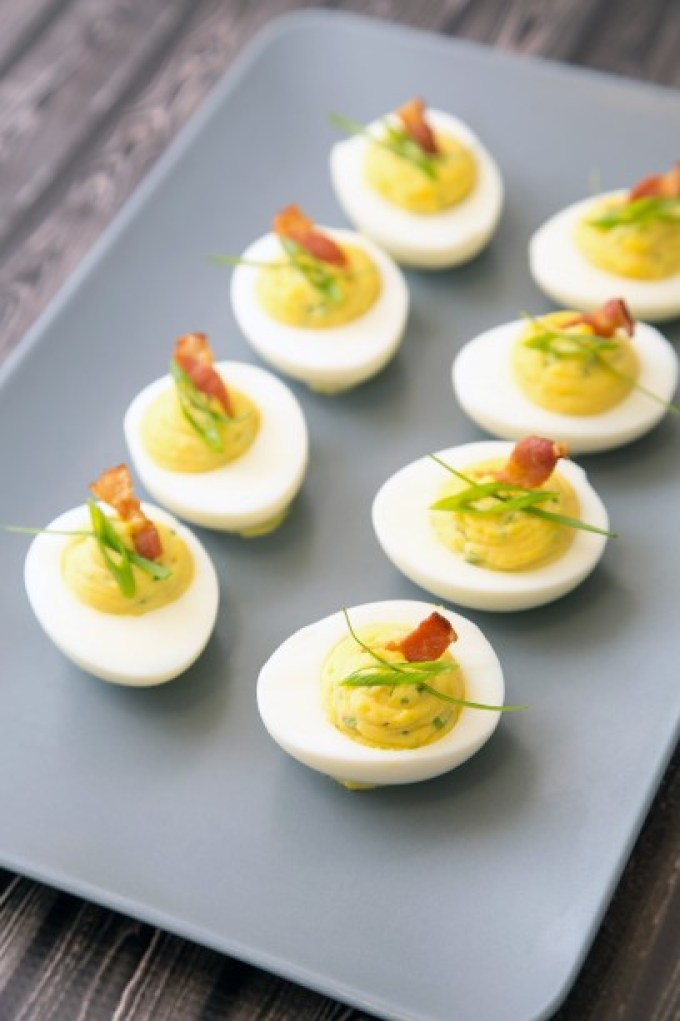 Bacon Deviled Eggs 1| The Missing Lokness